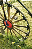 Vintage - Bicycle Wheel With Spokes Of Hammers Royalty Free Stock Photos