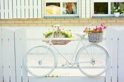 Vintage bicycle royalty free stock photos
