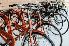 Free Vintage Bicycles, Collectibles. Stock Photos - 171170383