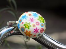 Vintage bicyle bell stock image