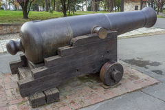 Vintage Big Bang Cannon 2 Royalty Free Stock Photography