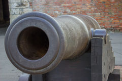Vintage Big Bang Cannon Royalty Free Stock Photos