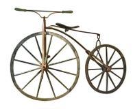 Vintage bike. On a photo: Vintage bike Stock Photos