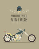 Vintage bike Royalty Free Stock Photography