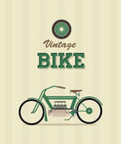Vintage bike Stock Photography