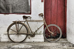 Vintage bike Royalty Free Stock Photos