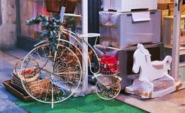 Vintage bike Stock Photography