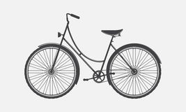 Vintage bike Stock Image