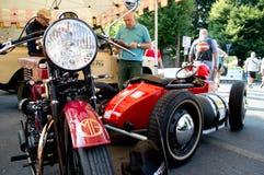 Vintage bikes at Bergamo Historic Grand Prix 2017 Royalty Free Stock Image