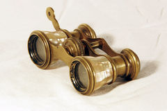 Vintage binoculars royalty free stock images