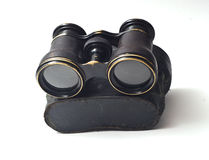 Vintage binoculars Stock Photo