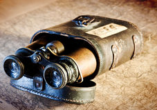 Vintage binoculars Royalty Free Stock Photography