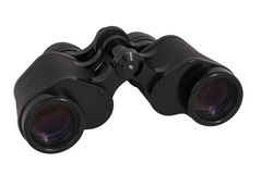 Vintage Binoculars Royalty Free Stock Photos