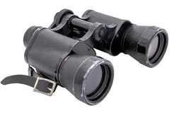 Vintage binoculars big Royalty Free Stock Images