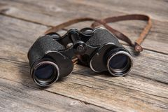 Vintage binoculars Stock Photos