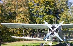 Vintage biplane. Stock Photography