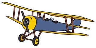 Vintage biplane Royalty Free Stock Images