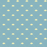 Vintage bird pattern. Vintage style seamless repeating pattern with flying birds Royalty Free Stock Image