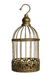 Vintage birdcage Stock Photo