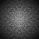 Vintage black background,seamless pattern Stock Photos