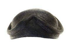 Vintage black bonnet Royalty Free Stock Photos