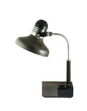 Vintage black desk lamp Stock Images