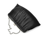 Vintage Black Fancy Bag Royalty Free Stock Photography
