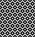 Vintage diagonal chequerwise squares cross lines vector pattern or background. Texture for tiles Stock Photo