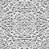 Vintage black and white ornament, seamless pattern Royalty Free Stock Image