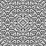 Vintage black and white pattern Stock Photography