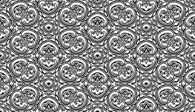 Vintage black and white pattern Royalty Free Stock Photos