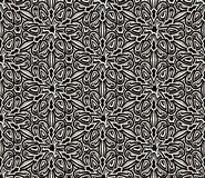 Vintage black and white pattern Royalty Free Stock Photography