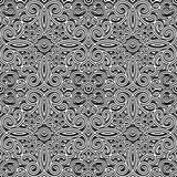 Vintage black and white pattern Stock Images