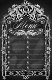 Vintage Blackboard for Bar or Restaurant Menu Royalty Free Stock Photo