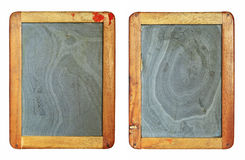 Vintage blackboard set Stock Images