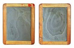 Vintage blackboard set Stock Images