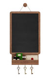 Vintage blackboard with shelf Stock Photos