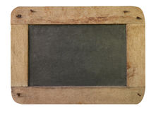 Vintage blackboard with wooden Royalty Free Stock Photo