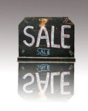 Vintage blackboard with the word sale Royalty Free Stock Photo