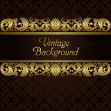 Vintage blank Stock Image