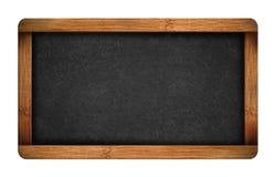 Vintage blank chalkboard slate Stock Photos