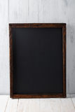 Vintage blank chalkboard Stock Image