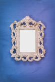 Vintage blank frame. Ready for photography montage Stock Images
