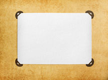 Vintage blank page Royalty Free Stock Photography