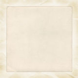 Vintage blank paper Stock Photography