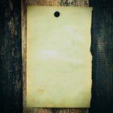 Vintage blank paper Stock Photo