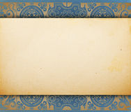 Vintage blank paper template Royalty Free Stock Photos