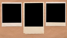 Vintage blank photo frame Royalty Free Stock Images