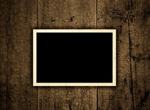 Vintage blank photo Royalty Free Stock Photography