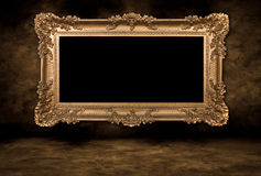 Vintage Blank Picture Frame Stock Images